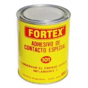 CEMENTO DE CONTACTO Fortex (101) 1/2 litro 24 unid