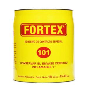 CEMENTO DE CONTACTO Fortex (101) 18 litros unid