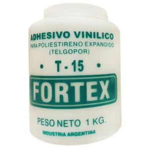 COLA P/ TERGOPOL Fortex T-15  1 kg 12 unid