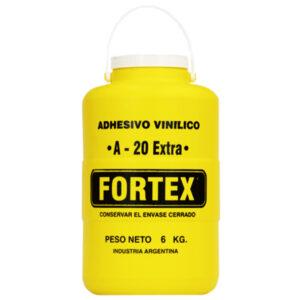 COLA SINTETICA Fortex A-20  6 kg 4 unid