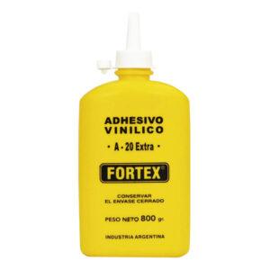 COLA SINTETICA Fortex A-20 800 gr c/pico 12 unid