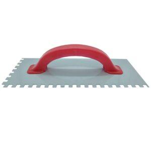 LLANA DENT. METALICA C/ CABO PLASTICO 6 x 6 – 125 x 300 mm Nac. 8 unid