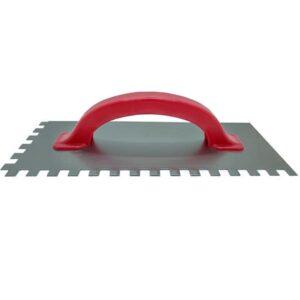 LLANA DENT. METALICA C/ CABO PLASTICO 8 x 8 – 125 x 300 mm Nac. 8 unid