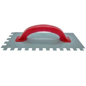 LLANA DENT. METALICA C/ CABO PLASTICO 10 x 10 – 125 x 300 mm Nac. 8 unid