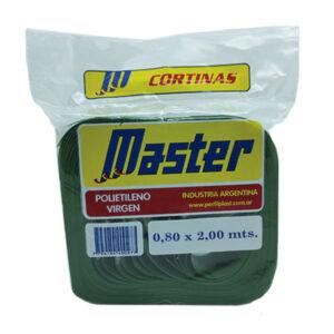 CORTINA ANTIM. MASTER SUPER 0.80 x 2 m verde 36 unid