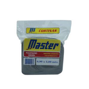 CORTINA ANTIM. MASTER SUPER 0.90 x 2 m gris 36 unid