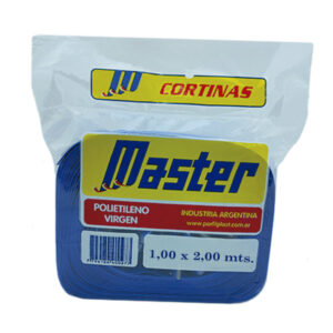 CORTINA ANTIM. MASTER SUPER 1.00 x 2 m azul 36 unid