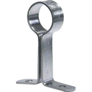 SOP. HIERRO ZINC. OVALADO chapa lateral zinc. plata 50 unid