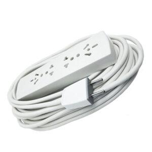 ZAPATILLA Indelplast c/ cable  3 m s/ tecla unid
