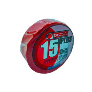 CINTA AISLADORA x 10 m rojo Tacsa 10 unid