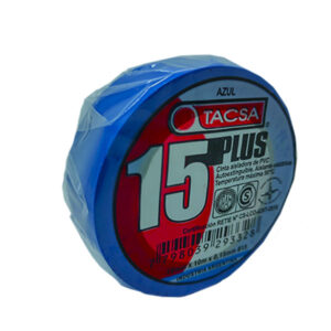 CINTA AISLADORA x 10 m azul Tacsa 10 unid