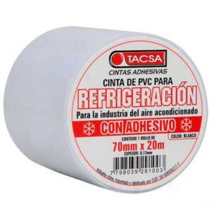 CINTA REFRIGERACION con adhesivo blanca Tacsa 45 unid