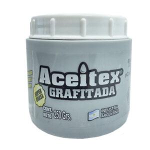 Grasa grafitada 250 gr Aceitex 6 unid
