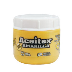 Super grasa amarilla  90 gr Aceitex 12 unid
