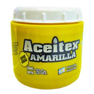 Super grasa amarilla 250 gr Aceitex 6 unid