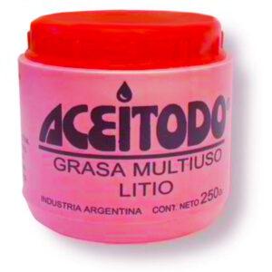 Aceitodo grasa multiuso litio 250 gr 6 unid