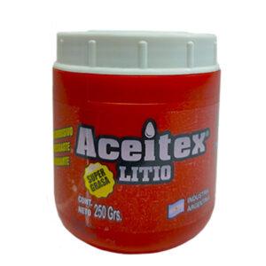 Grasa litio 250 gr Aceitex 6 unid
