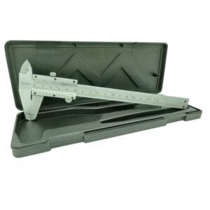 CALIBRE metalico 150 mm c/freno Importado 50 unid