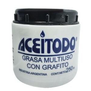 Aceitodo grasa multiuso grafitada 250 gr 6 unid