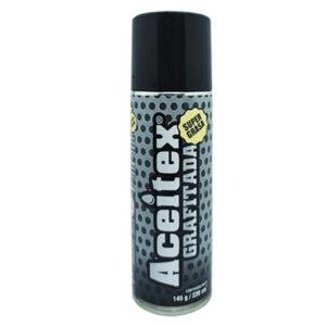 Grasa grafitada aerosol 160 gr Aceitex 24 unid