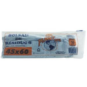 BOLSAS residuo 45 x 60 Nacional x 30 unid