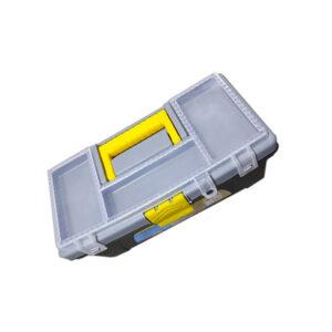 CAJA PLASTICA CIERRE PLAST. gris N° 12.5 Import. unid