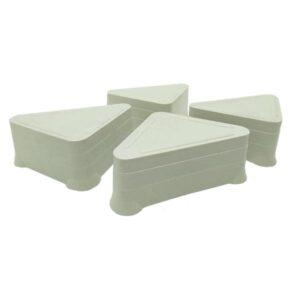 BASE PLASTICA triangular p/ freezer Economica x 4 unid