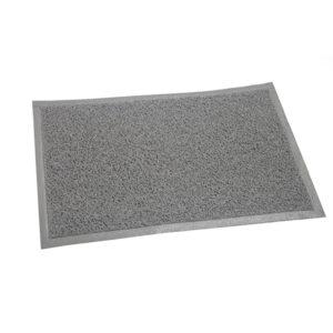 FELPUDO PLASTICO 40 x 60 gris 12 unid