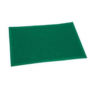 FELPUDO PLASTICO 40 x 60 verde 12 unid