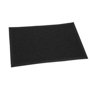 FELPUDO PLASTICO 40 x 60 negro 12 unid