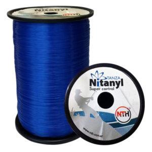 TANZA PES. Nitanyl SUP. CONT. 1 kg 0.60 mm azul rollo x 1 kg