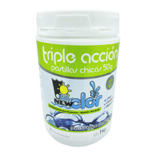 CLORO PASTILLA TRIP./ ACC. 50 g x 1 kg NewClor 12 unid