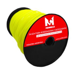 TANZA P/ BORD. 1.5 mm redonda BOBINA Merrels rollo x 1 kg